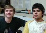 Aidan and Kris